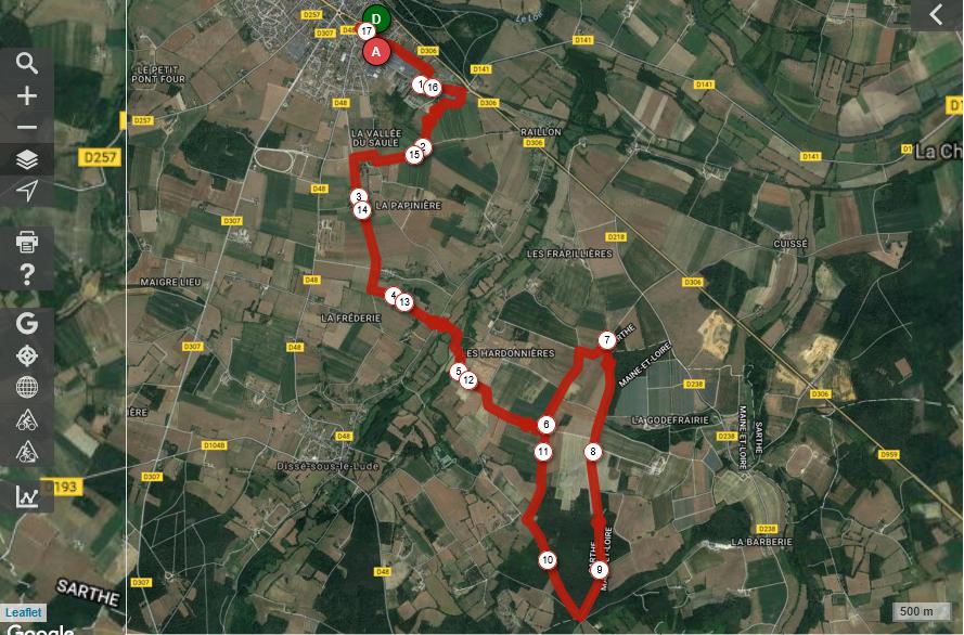 18 km