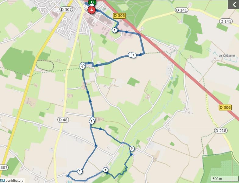 Circuit 12 kms