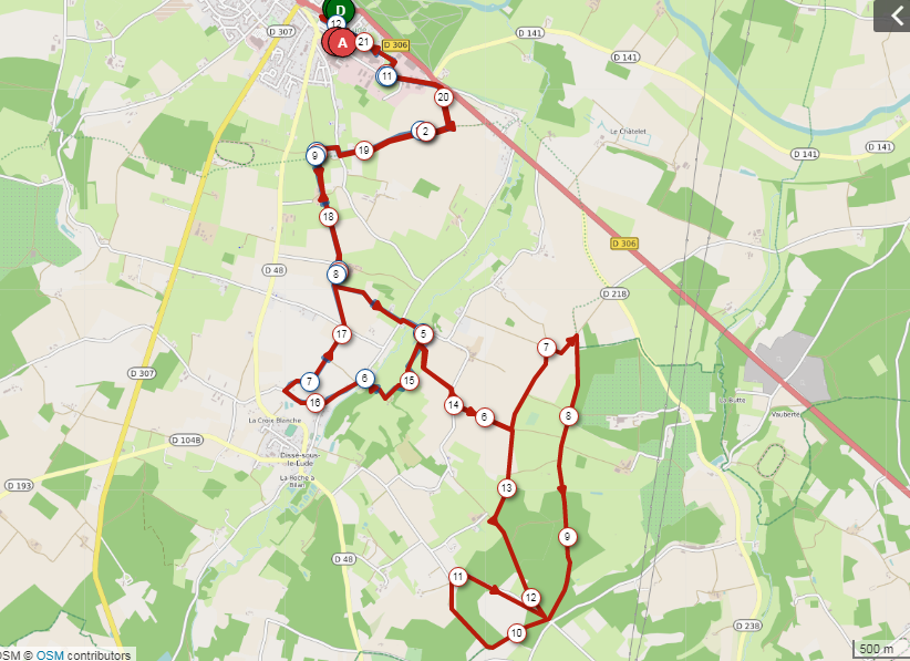Circuit 21 kms